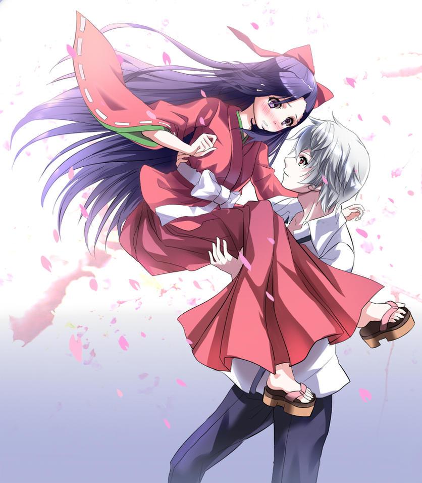 Tsubaki Y Akise Aru By StarLightDestiny