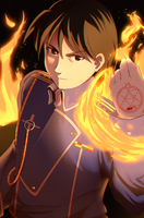 Roy Mustang by Gora-Tendo