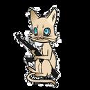 Meow by Cerberina