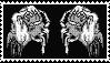 white hand stamp by BruceBannerFanGirl