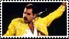 Freddie Mercury Stamp by AriaGrill