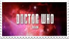 doctor who title card stamp by AriaGrill