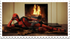 deadpool stamp by AriaGrill