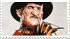 Freddy Kruger Stamp by AriaGrill