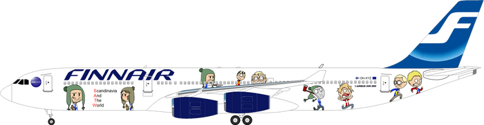 SATW livery - Finland by SkyRider747
