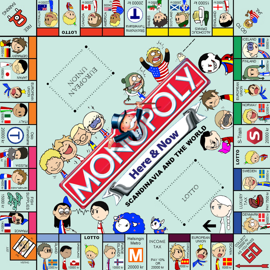 Monopoly: SatW Edition by SkyRider747 on DeviantArt