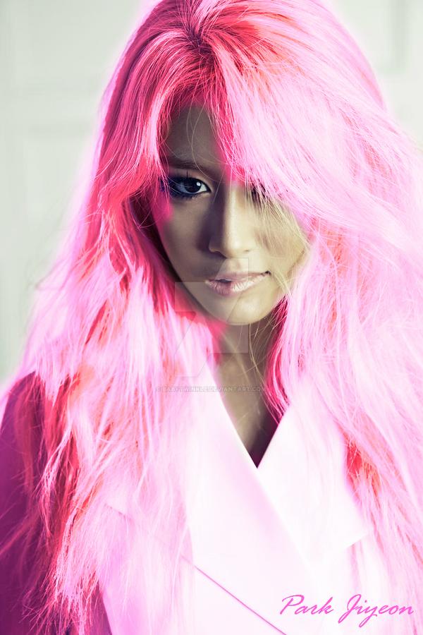 Pink Jiyeon by BabyTwinkle