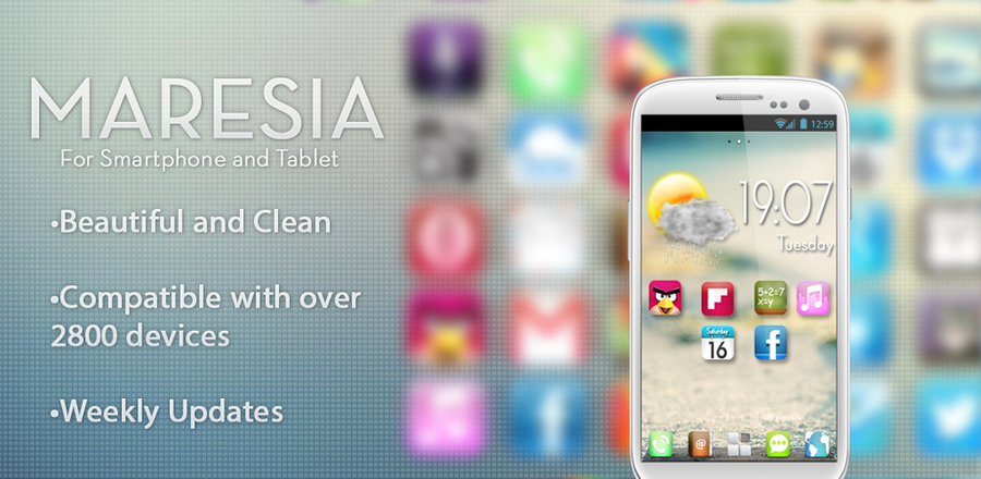 Maresia HD - Android Theme by IcedUpApps