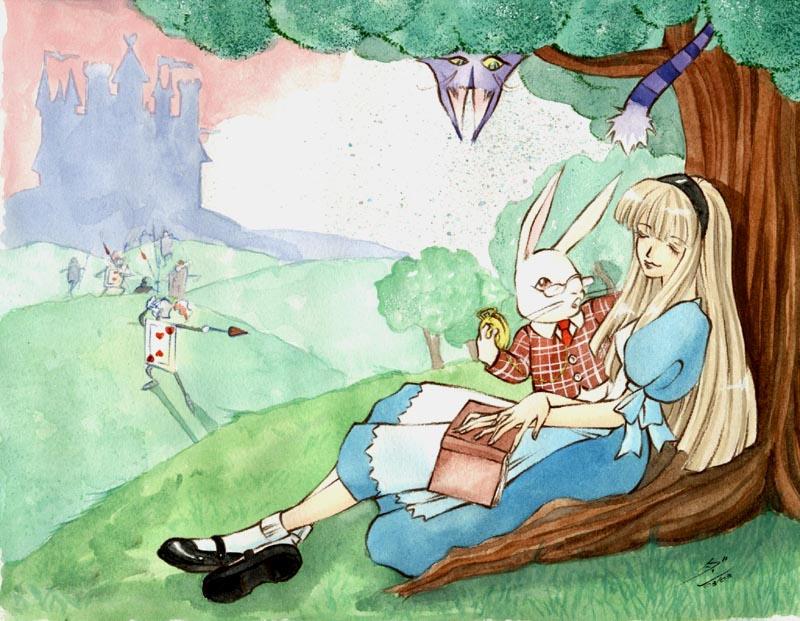 Alice in Wonderland by dandansama