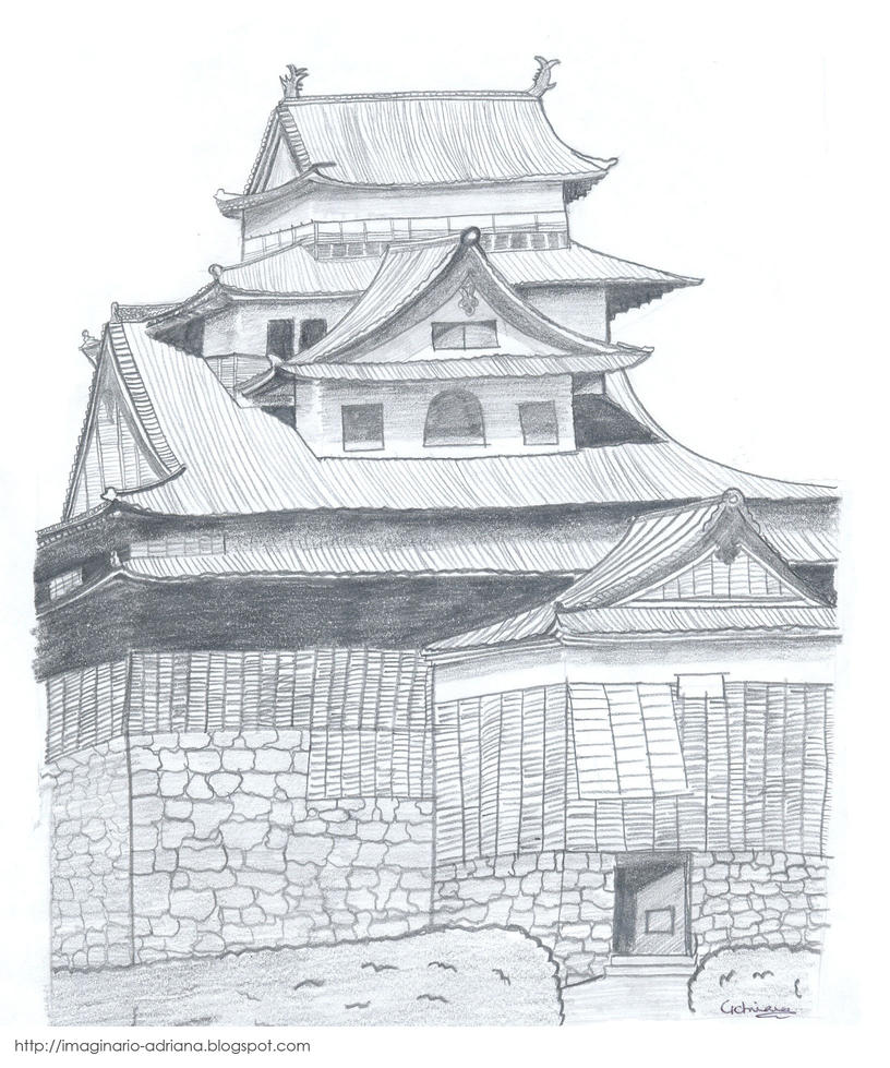 Image Result For Japanese House Drawing