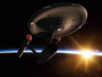 An Enterprising dawn by thefirstfleet