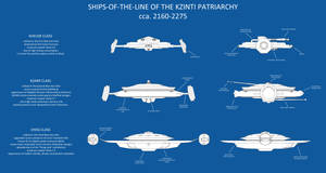 Kzinti starships by thefirstfleet