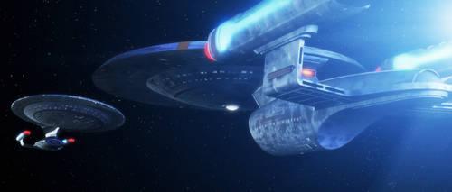 Yesterday's Enterprise by thefirstfleet