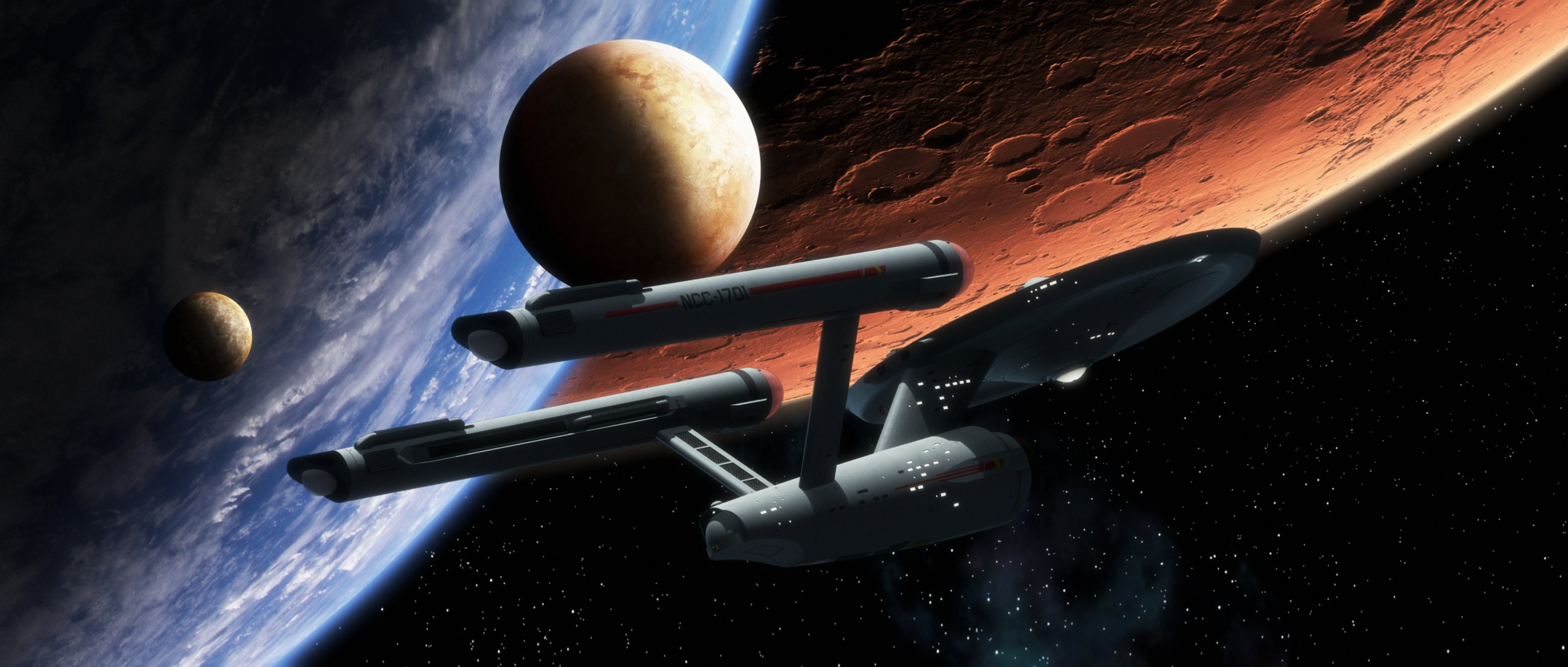 These are the voyages of the Starship Enterprise by thefirstfleet