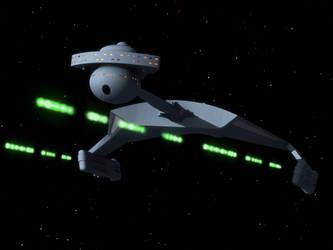The everlasting Klingon battlecruiser by thefirstfleet