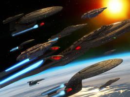 Star Trek: Stellar Cartography illustration by thefirstfleet