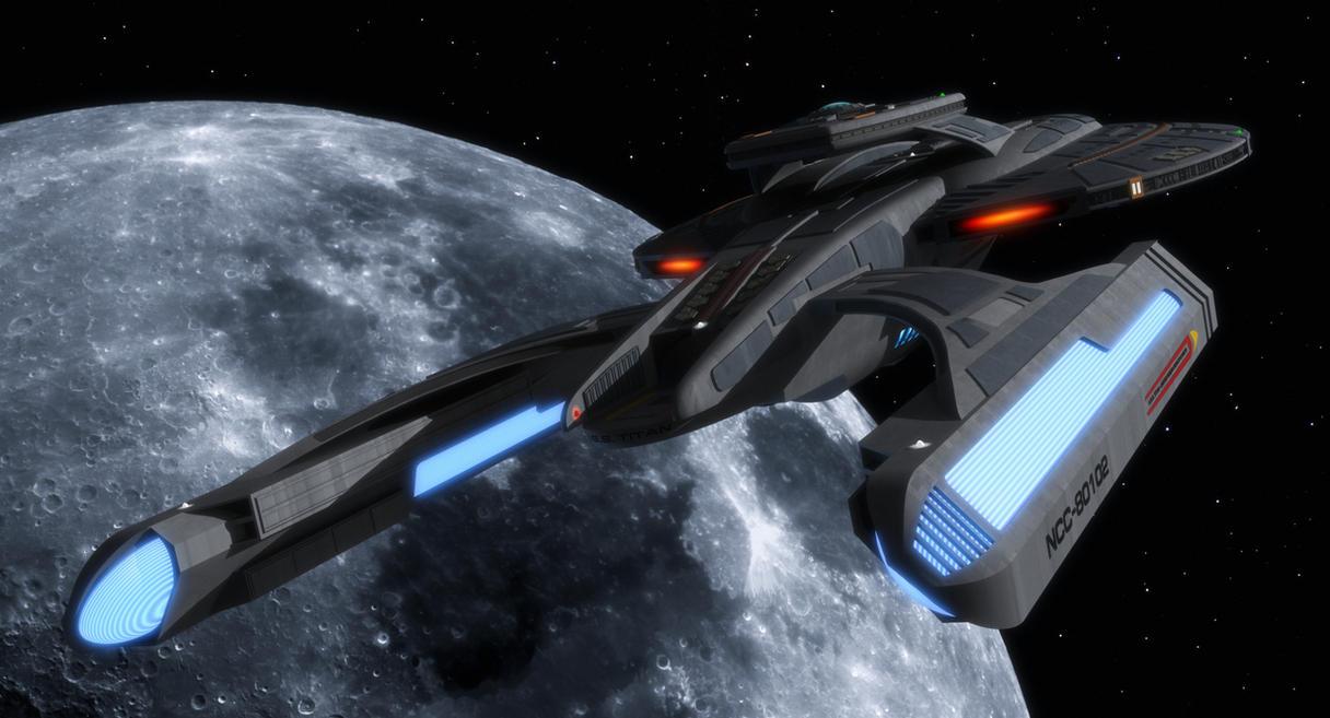 USS Titan by thefirstfleet