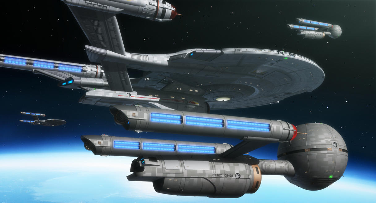 Uss Vengeance Wallpaper Reinforcements by thef...