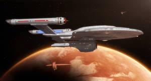 Visiting Vulcan by thefirstfleet