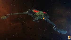 Klingon D5 by thefirstfleet