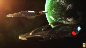 Dominion War patrol by thefirstfleet