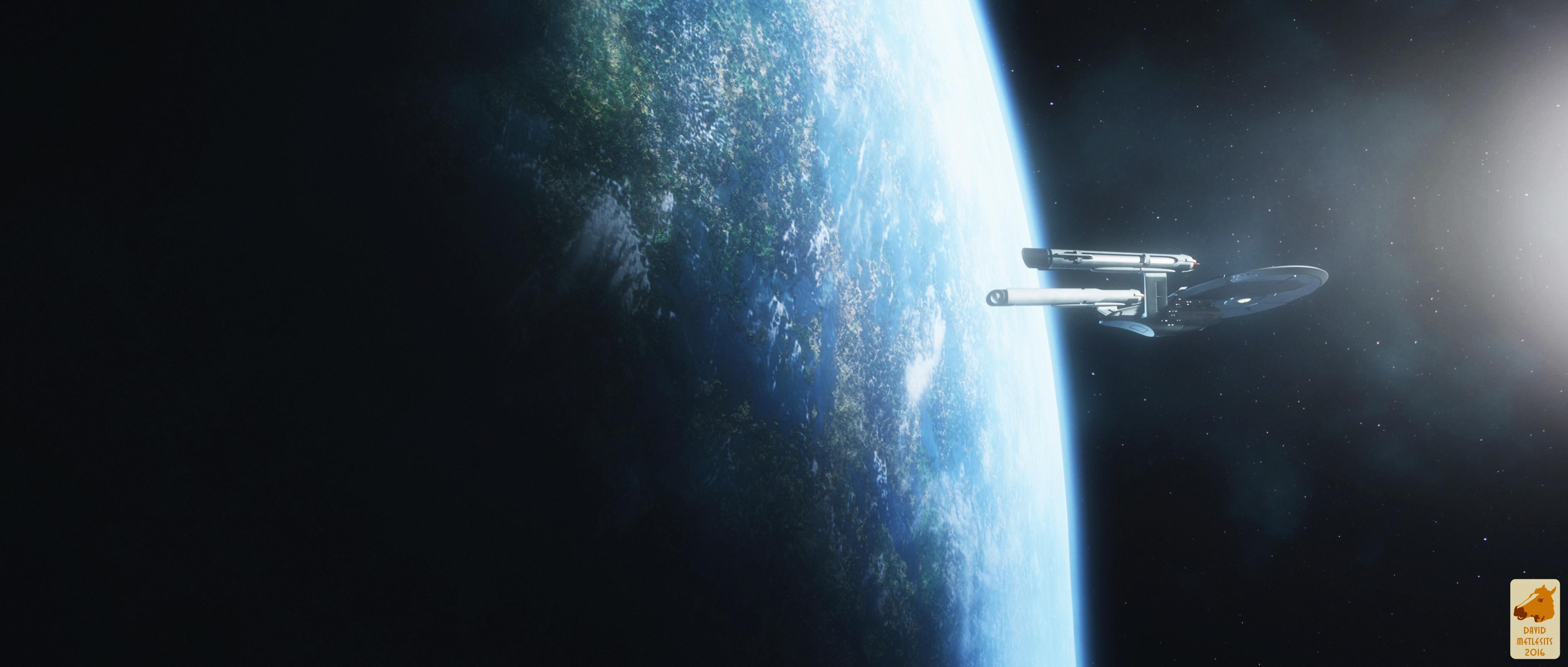Orbit for Glenn by thefirstfleet