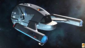 Space ambulance van