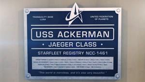 USS Ackerman dedication plaque by thefirstfleet