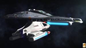 Type 9 shuttle by thefirstfleet