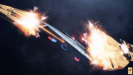 Gunship diplomacy by thefirstfleet