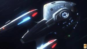 Nova at Warp by thefirstfleet
