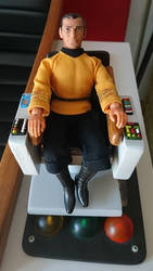 Captain's chair for Mego Kirk by thefirstfleet