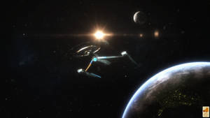 Discovery leaves Earth
