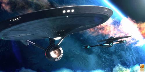 Leaving Xahea by thefirstfleet