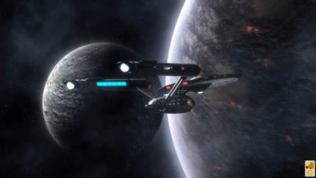 Kirk at Boreth by thefirstfleet