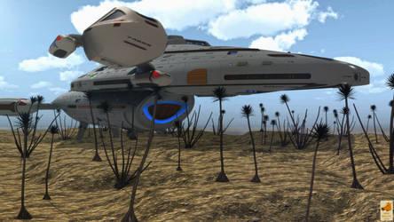 Landed Voyager