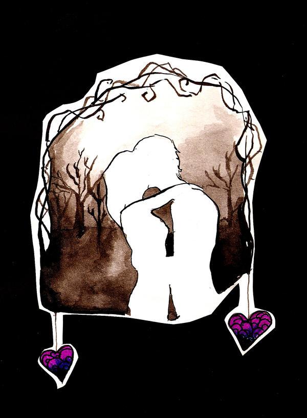 Hearts Hung Like Ornaments by Moonpetal90
