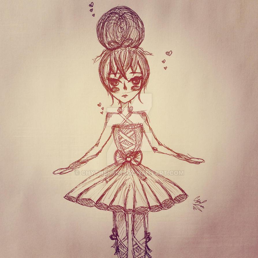 Ballerina by ChyTheNeko