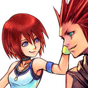 Kairi x Axel: Everyone Bleeds