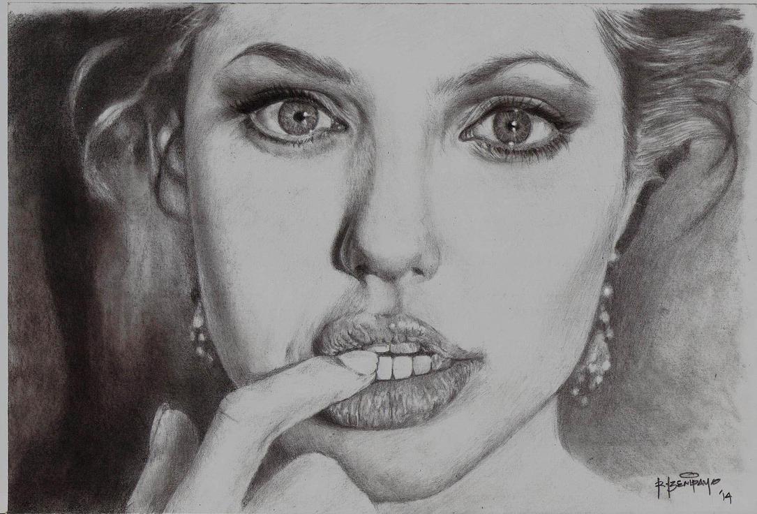 Angelina Jolie by r0LaNdB2001