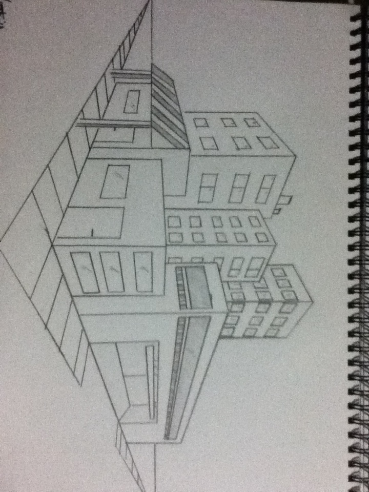 two point perspective cityscape perspective gallery perspectivethai