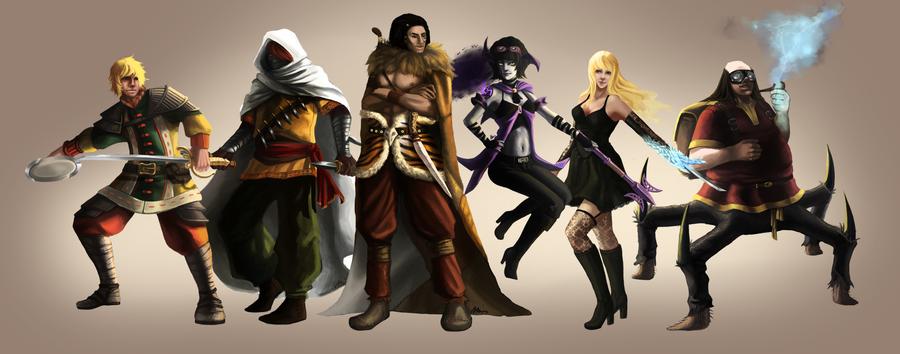 Battle Tournament by MistressMim
