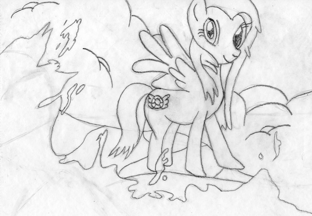 passionforponies's request pencil art by palmtree28