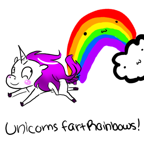 DeviantArt: More Like Unicorns Fart Rainbows :3 by Kaigumo
