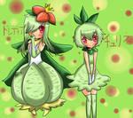 Churine and Doredia Gijinka