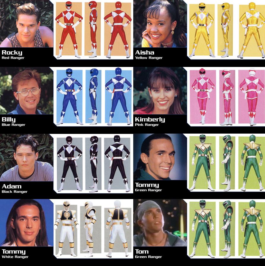 Mighty Morphin Power Rangers Wallpaper: Mighty Morphin Power Rangers Season 2 By Gara26 On DeviantArt