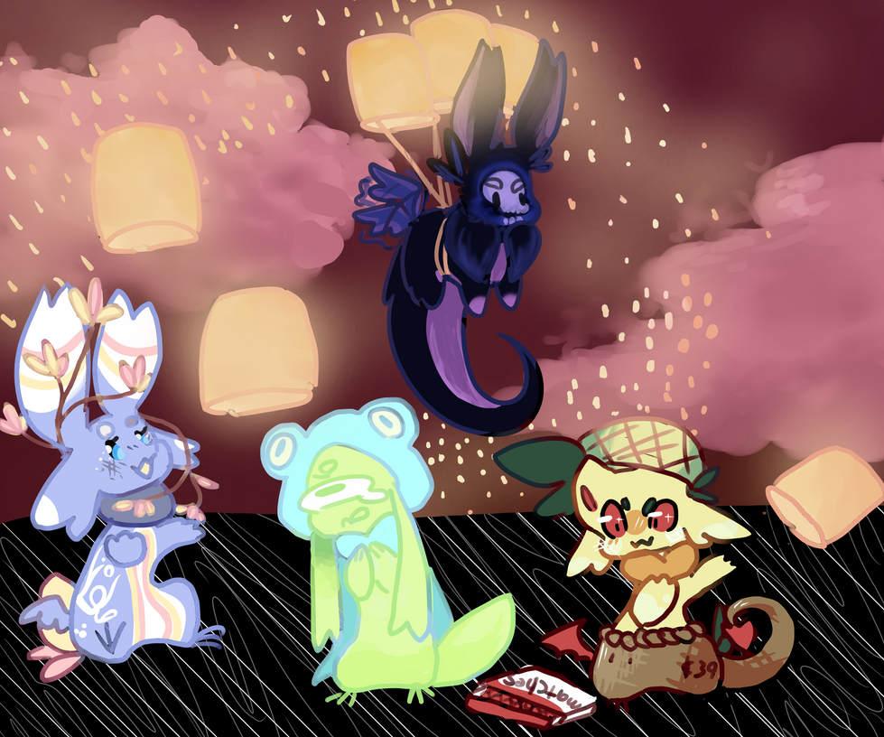 Lanterns-chufa advent by lemonbit