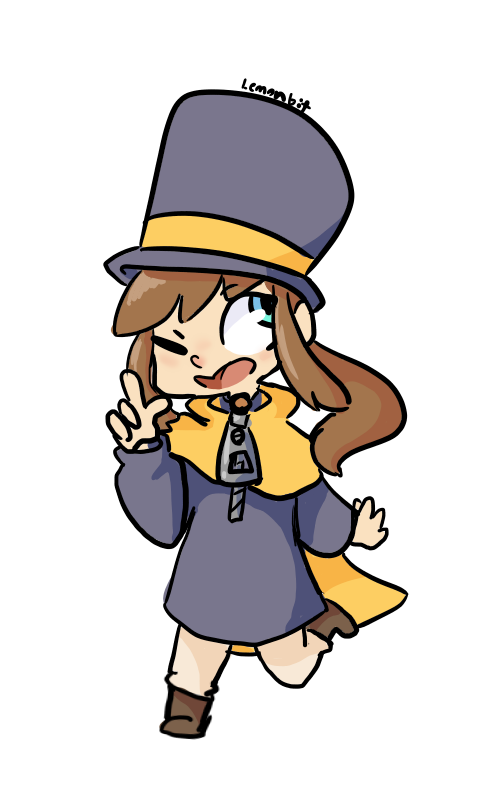 Hat Kid by lemonbit