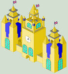 Old English Church Pixel Art