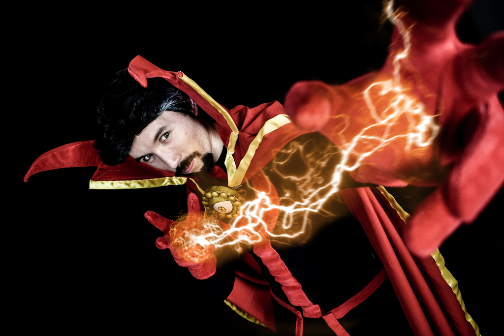 Dr. Strange from the Defenders comics series by DrRyo